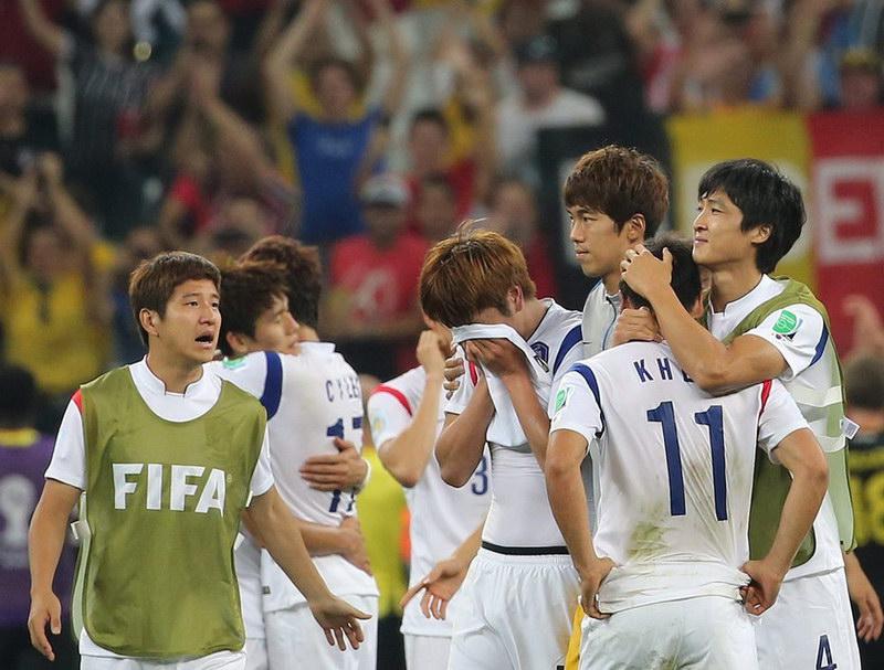 韩国0-1负比利时 亚洲球队全军毁灭(组图) (13)