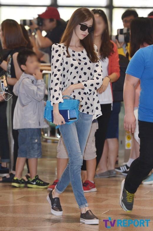 少女时代演绎机场时尚 2014日本三巡引期待