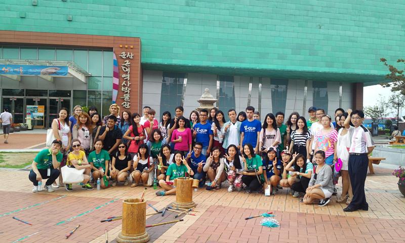 韩国群山市举办海外大学生旅游活动宣传旅游资源