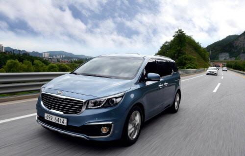 韩国起亚汽车主攻海外市场 7月中国欧美地区业绩良好高清图片