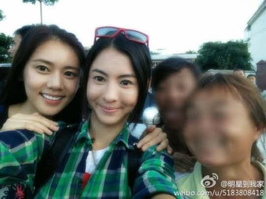 张柏芝秋瓷炫中韩代表美女素颜齐出镜
