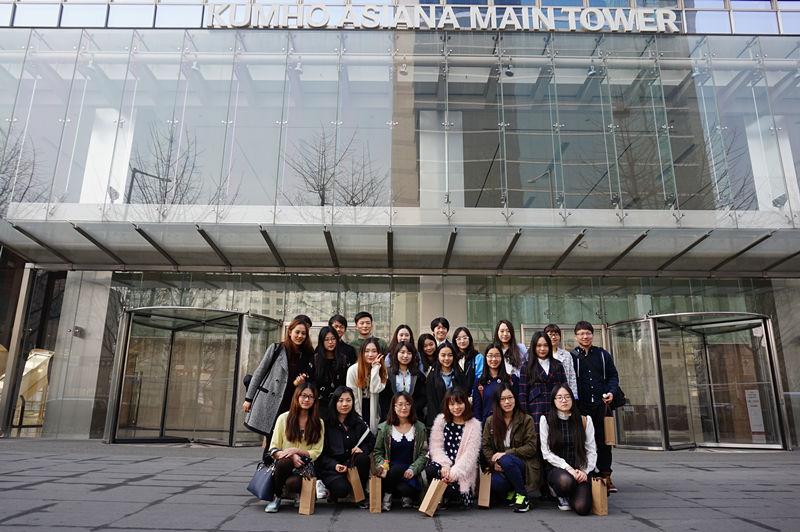 锦湖韩亚杯中国大学生韩语演讲比赛获奖选手