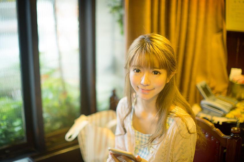 韩青春美少女yurisa发福利 风格百变展姣好身材