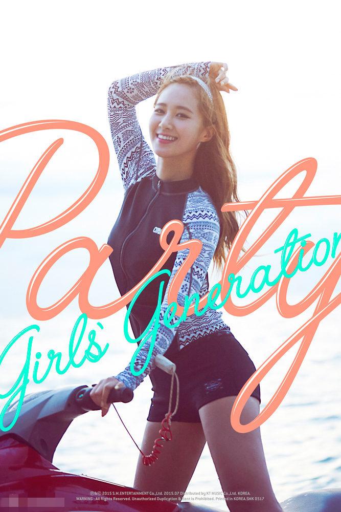 少女时代新专辑8人宣传照 夏日海边风展不同魅