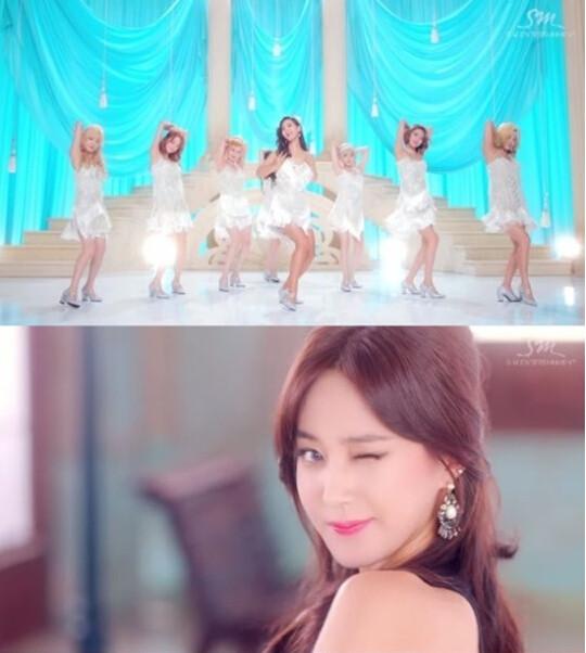少女时代《lion heart》MV公开 变身华丽复古女