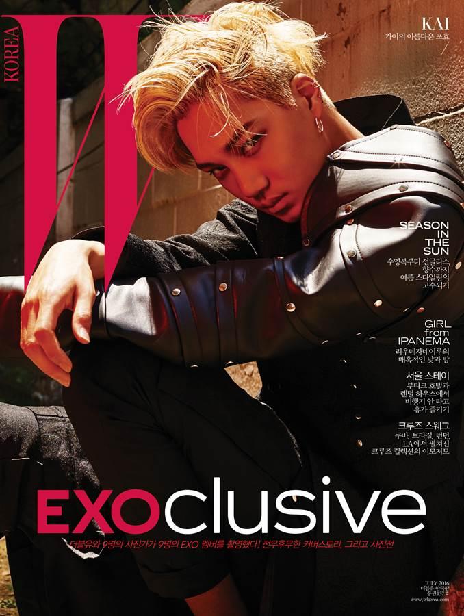 人民网6月17日讯 韩国男团EXO携全新专辑回归,九位成员为韩国某杂志拍摄了写真并登上该杂志封面。   写真以EXOclusive为主题,九位成员拍摄了不同的个人封面,将以九种个人版本封面亮相。   另外,EXO的新专辑《EXACT - The 3rd Album》的主打歌《Monster》夺得了数字综合排行榜和下载排行榜冠军,《EXACT - The 3rd Album》则是夺得了周专辑销量冠军,在韩国gaon唱片销量榜夺得了三冠王。   时尚新闻延伸阅读: