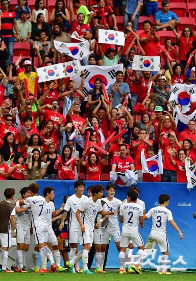 【里约奥运】韩国男足战胜墨西哥挺进8强