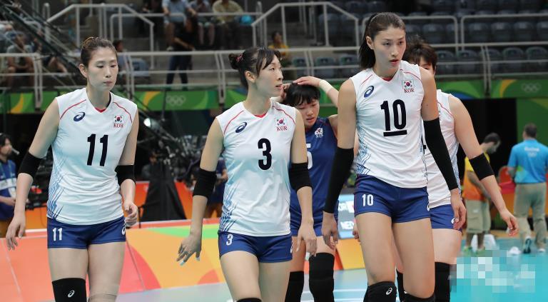【里约奥运】女排四分之一决赛:韩国队负于荷