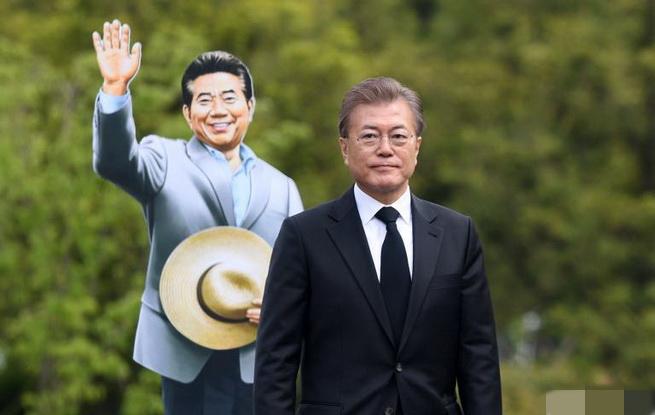unibet总统文在寅出席卢武铉逝世8周年追悼仪式