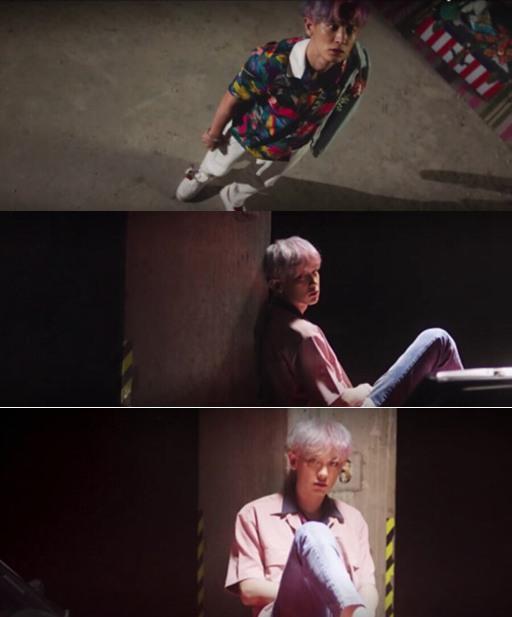 韩国偶像男团EXO再曝成员灿烈的新专辑宣传照. EXO12日通过官图片