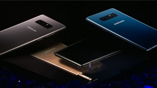 价格还未知 全面屏三星Note8携双摄发布