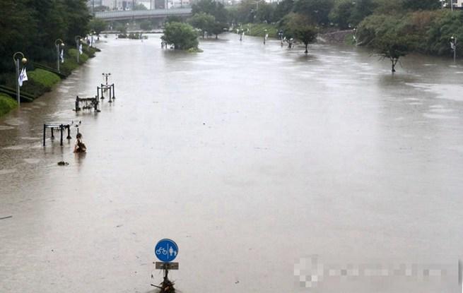 unibet中文网釜山11日遭强降雨侵袭 降雨量创史上最高值