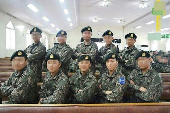 CNBLUE郑容和加入特工队基础军事训练成绩优秀【组图】