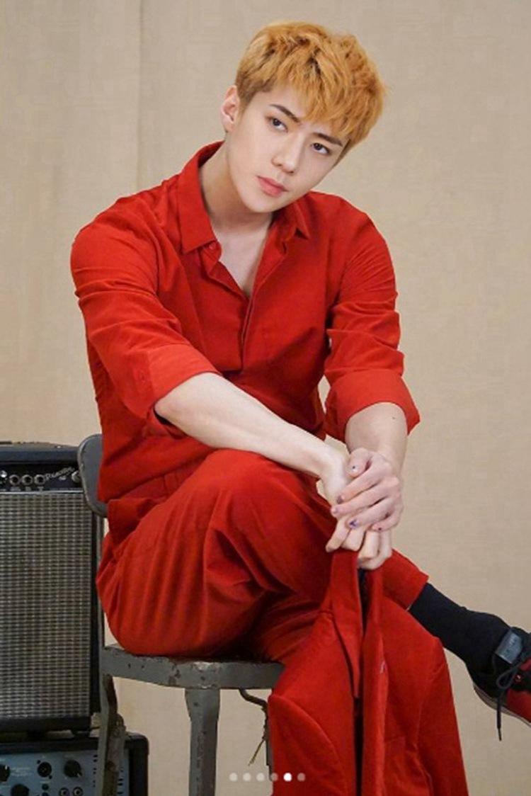 吴世勋虽然一本正经但却处处透着可爱,这就是吴世勋的魅力呀!