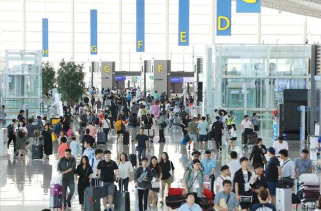 仁川机场(图片提供:韩联社)