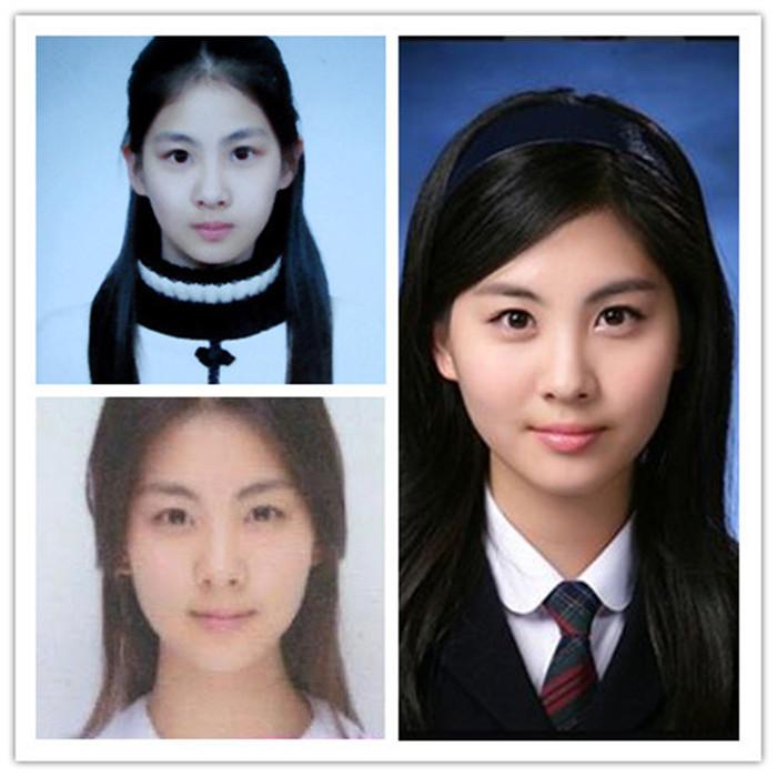 【组图】少女时代金泰熙文根英 韩国女星素颜