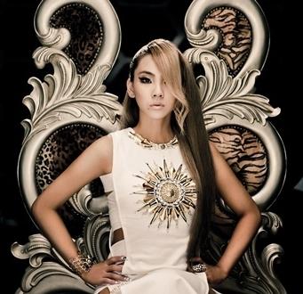 合2NE1队长CL李彩琳个人单曲 坏丫头 横扫韩国八大音源排行榜