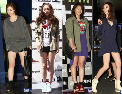 """济州岛洗码 韩国女生夏季穿衣时尚:从""""露脐t""""到"""