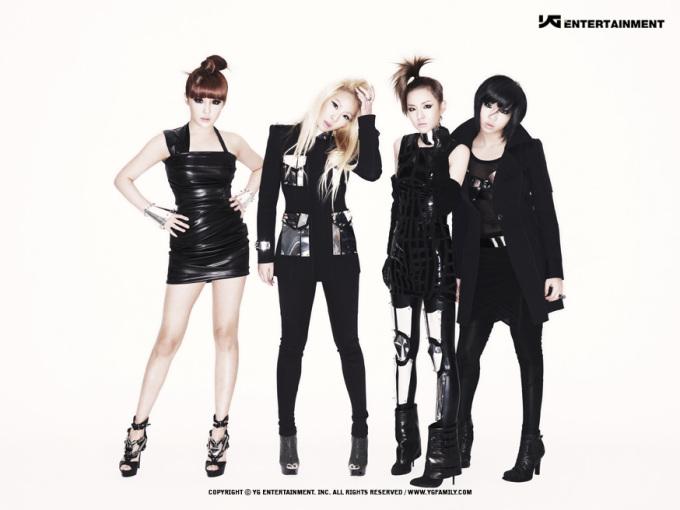 【高清】韩国女团2NE1将推雷鬼风格新歌 点燃