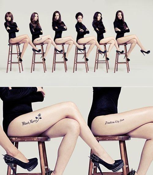 dal★shabet新曲《看我的腿》舞蹈过于挑逗