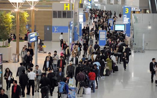 明年起韩国仁川机场将放宽海关安检限制