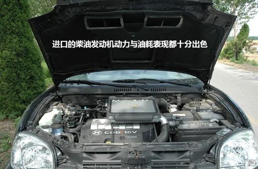 图为韩国现代圣达菲柴油车.(资料图)高清图片