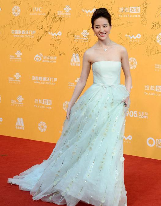 宋慧乔蔡琳范冰冰刘亦菲 北京国际电影节中韩
