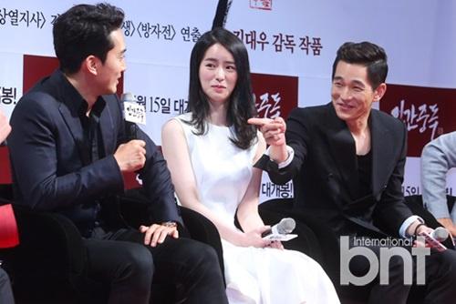 电影《人间中毒》showcase举行 演员宋承宪林